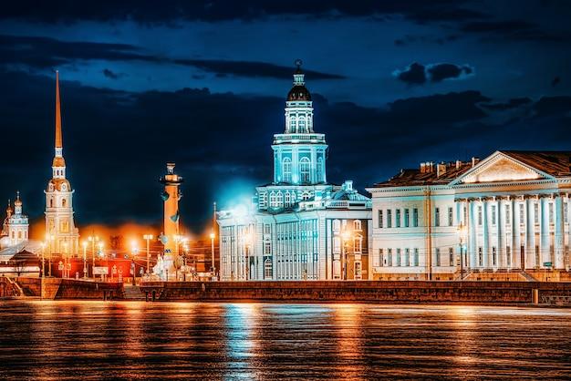 Kunstkamera, museum voor antropologie en etnografie van de russische academie van wetenschappen. sint petersburg. rusland.