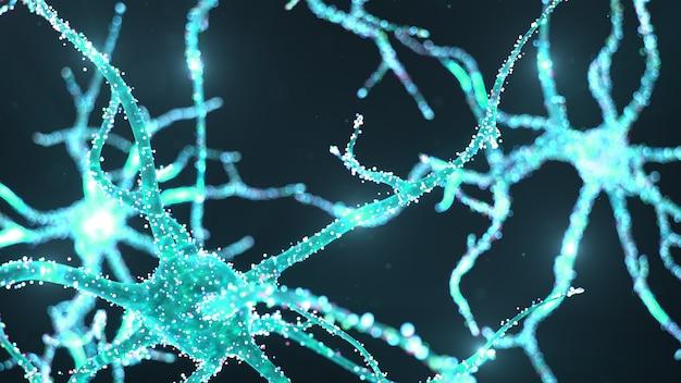 Kunstmatige neurale netwerktechnologie wetenschap.