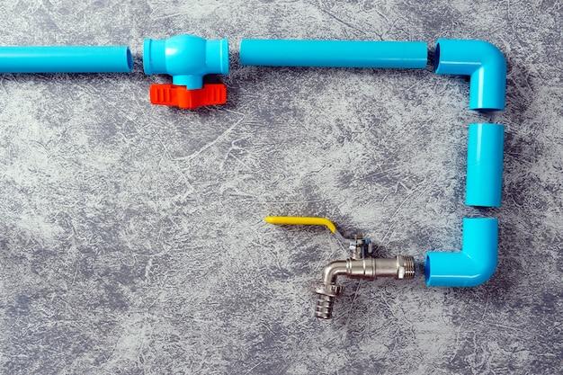 Kunststof buizen voor het watersysteem pijpsnijgereedschap waterkraan pijpdraadafdichtingstape reparatie: