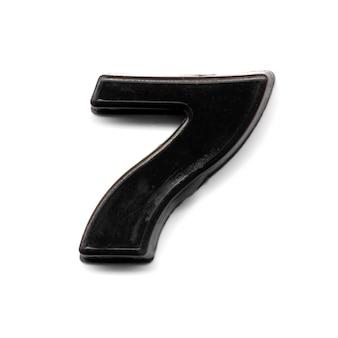 Kunststof magneetnummer 7