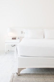Kussen op bed