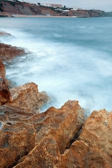 Kust van het strand van ericeira