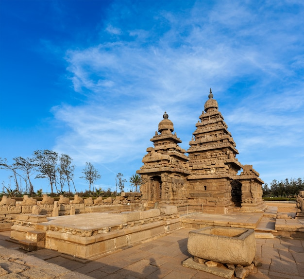 Kusttempel in mahabalipuram, tamil nad