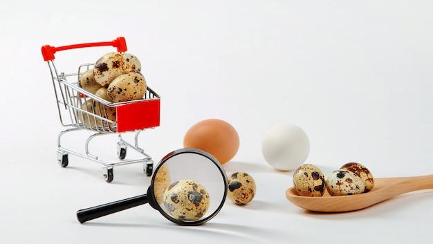 Kwartel- of kippeneieren, hun voordelen of nadelen, welke u moet kiezen.