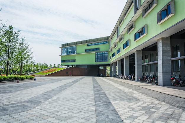 Laagbouw gebouw