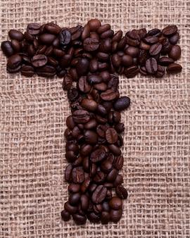 Laatst uit koffiebonen