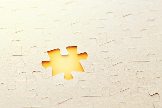 Laatste ontbrekende puzzelstukje