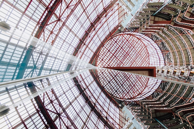 Lage hoek opname van het thompson center