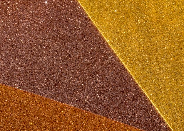 Lagen van achtergrond met kleurovergang gouden textuur