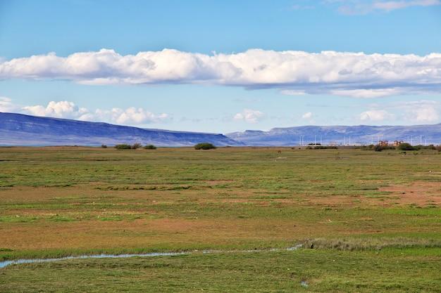 Lago argentino in el calafate, patagonië, argentinië