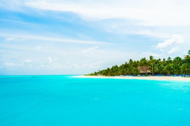 Lagune landschap blauwe paradijs zon