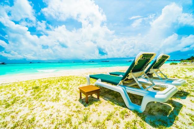 Lagune landschap luxe resort eiland