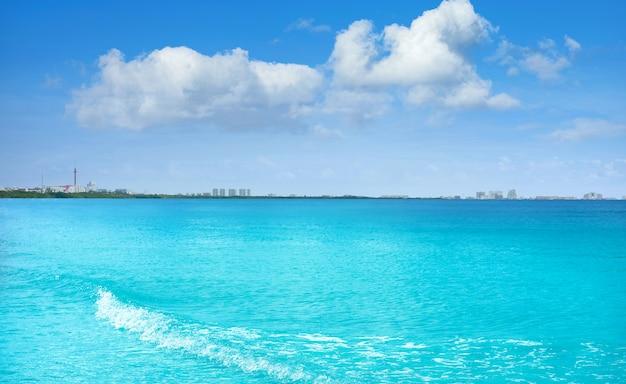 Lagune van cancun en hotelzone