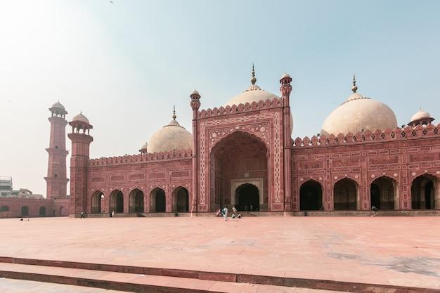 Lahore, pakistan badshahi-moskee