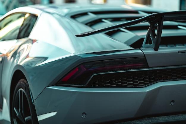 Lamborghini close-up