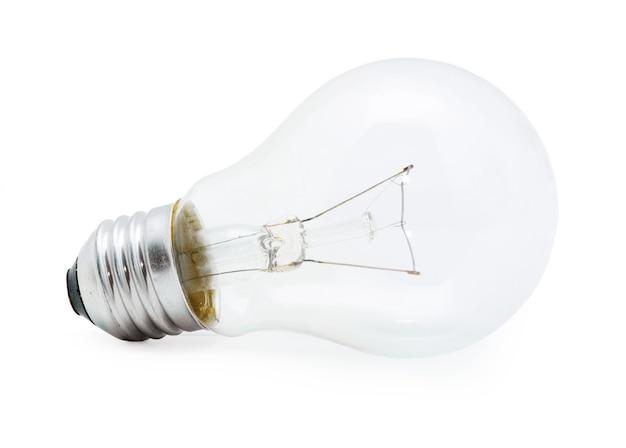 Lamp geïsoleerd op wit