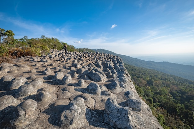 Lan hin poom, phu hin rong kla national park in phitsanulok, thailand