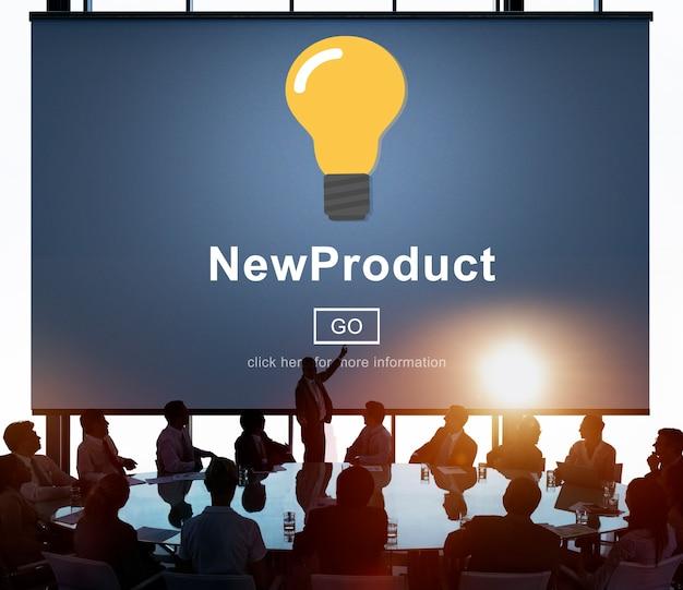 Lancering van bedrijfsproducten