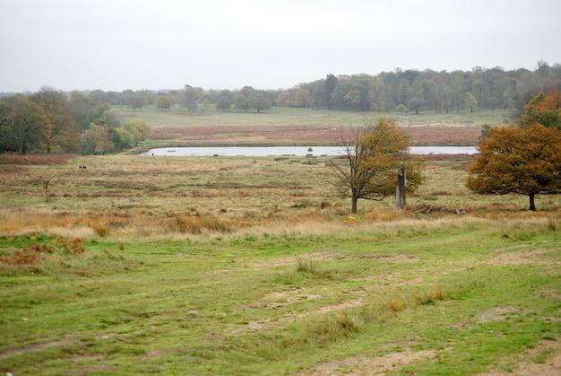 Land landschapsmening