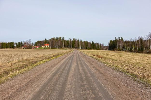 Landelijke weg
