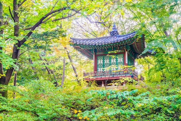 Landmark cultuur koreaanse geheim paleis