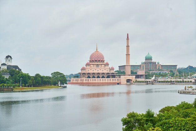 Landmark islam putrajaya geometrisch landschap