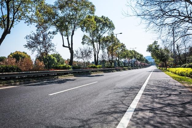 Landschap curve reis way road