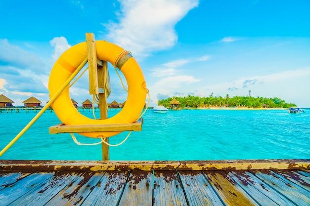Landschap oceaan kust saver vakantie