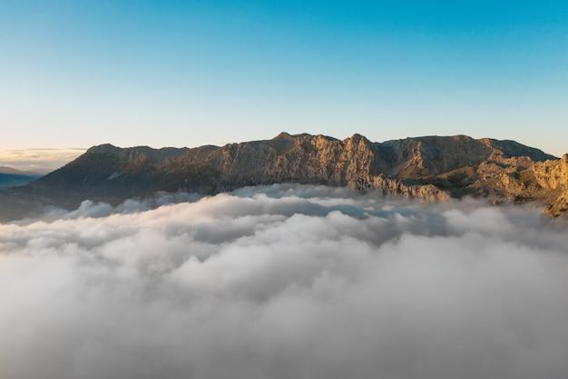 Landschap van bergen in turkije