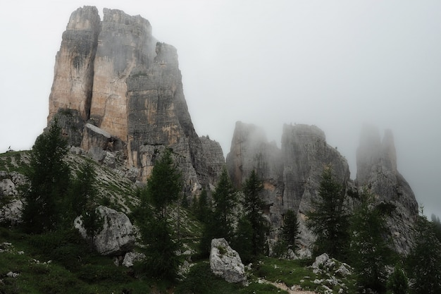 Landschap van de berg