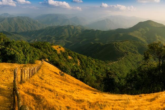 Landschap van doi pui co.