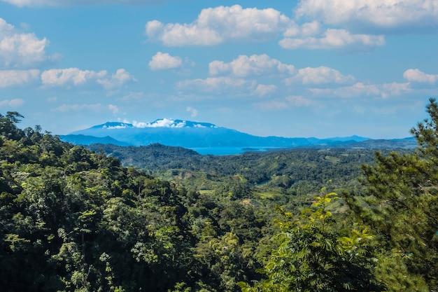 Landschap van een nationaal park