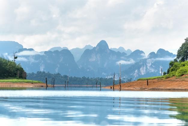 Landschap van emerald lake