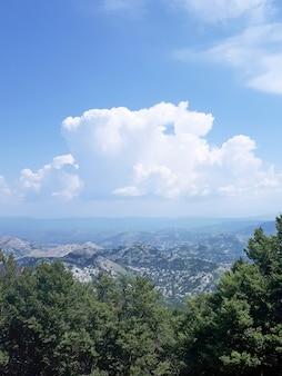 Landschap van montenegro