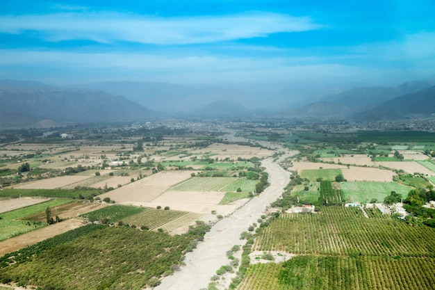 Landschap van peru