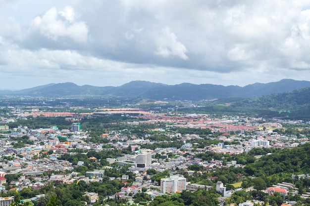 Landschap van phuket stad