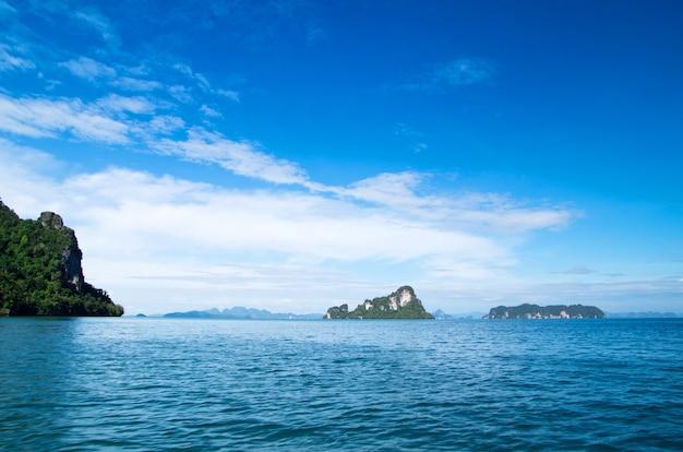 Landschap van tropisch eiland thailand