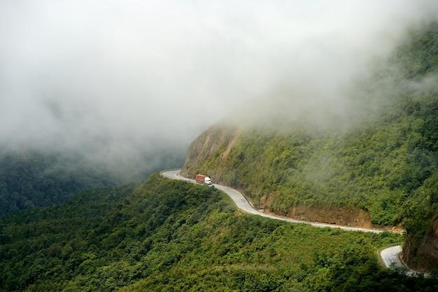 Landweg in sapa vietnam