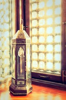 Lantaarn arabische ambachtelijke toerisme arabisch