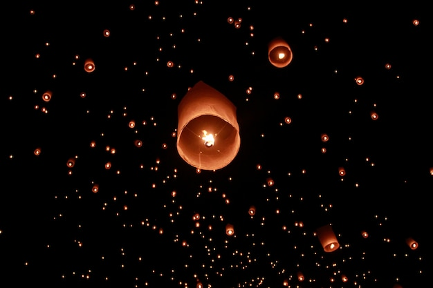 Lantaarnfestival in thailand