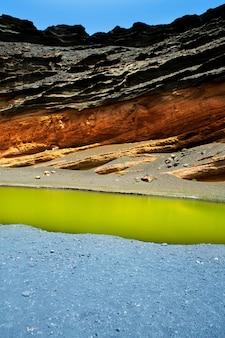 Lanzarote el golfo lago de los clicos