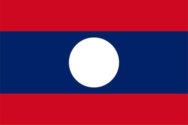 Lao vlag van laos