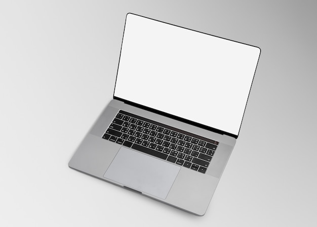Laptop leeg scherm digitaal apparaat