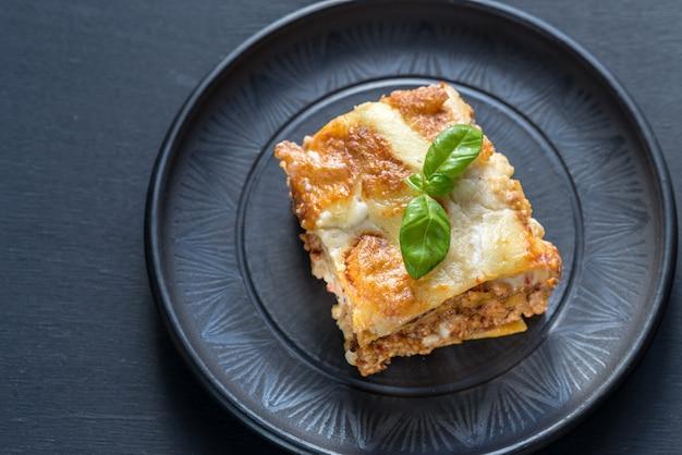 Lasagne met pesto