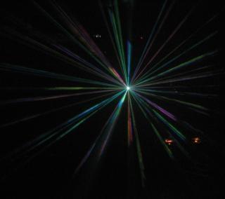 Laser party, disco