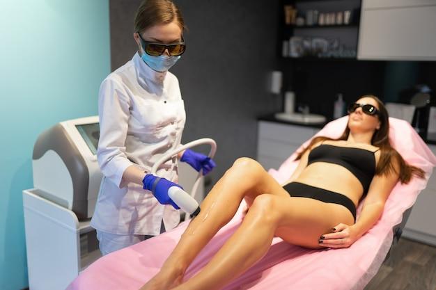 Laser verwijderingsprocedure