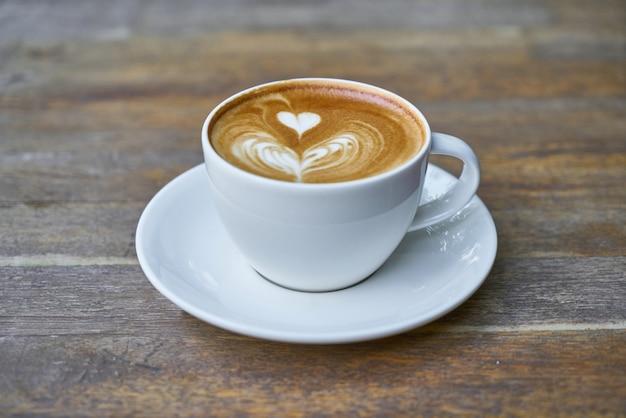 Latte coffee