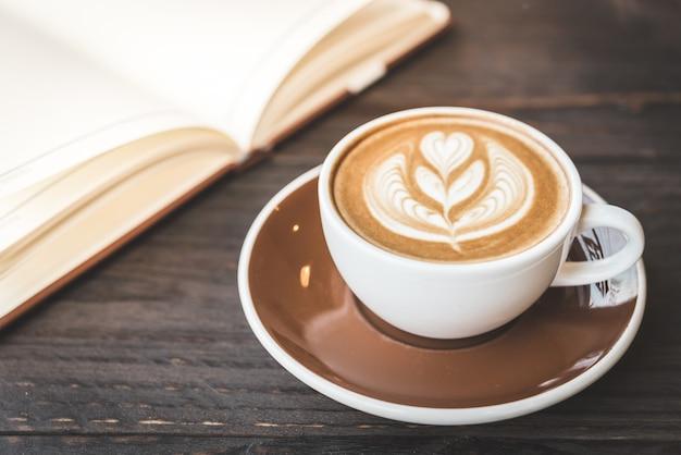 Latte koffiekopje