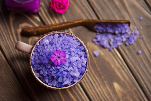 Lavendel aromatisch zeezout