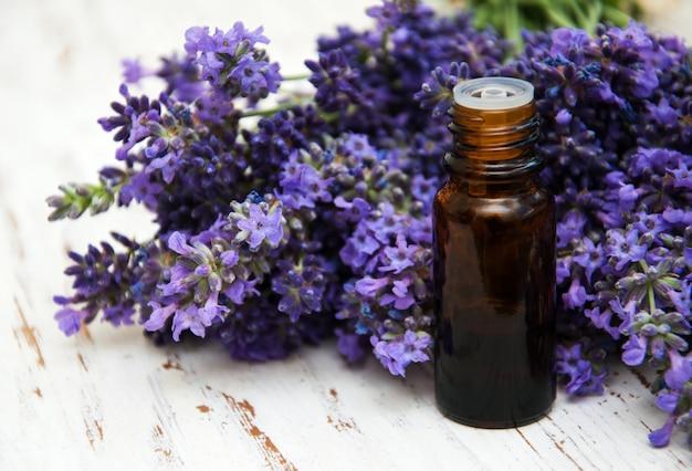 Lavendel en massageolie
